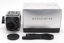 Hasselblad 500C/M Medium Format  w/ Planar C 80mm F2.8 ,A-12 From Japan #448