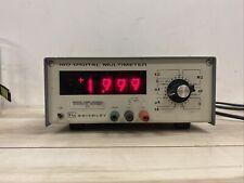 New Listingkeithley 160 Digital Multimeter Nixie