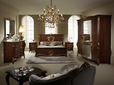 Arredoclassic™ Bedroom Set Sinfonia Baroque Rococo Bed Night Table 6tlg. New