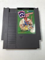Little League Baseball (1990) Cartridge NES Nintendo Game Authentic Tested Good
