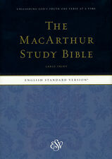 ESV MacArthur Study Bible, Large Print, Hardcover
