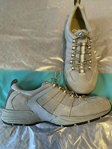 """NEW Clarks """"Lulworth"""" Ladies Natural Trainer Walking Shoes UK 4.5/37.5 D"""