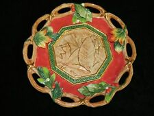Mint Fitz and Floyd Classics Christmas Lodge Canape Plate, Motif 10""