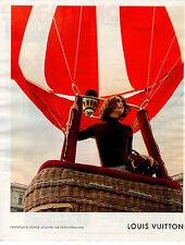 Publicité 2012  LOUIS VUITTON sac à main marque collection mode vetement