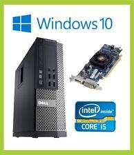 Dell Optiplex 7010 SFF PC Computer    Quad i5 3570 3.40GHz   8GB   500GB   Win10