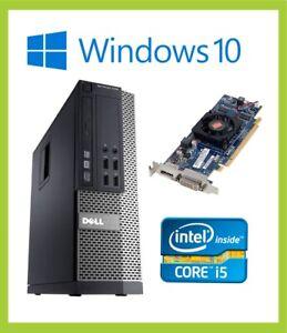 Dell Optiplex 7010 SFF PC Computer  | Quad i5 3570 3.40GHz | 8GB | 500GB | Win10