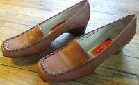 Cole Haan Womens Brown Leather Slip On Shoes Size: 6.5 B