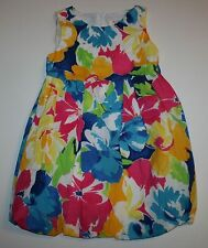 New The Children's Place TCP Pretty Bold Floral Summer Dress Size 6 Year NWT