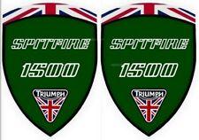 2 autocollants stickers TRIUMPH SPITFIRE 1500  ( idéal pour aile avant)