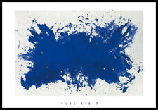 Yves Klein Hommage a Tennessee Williams Poster Kunstdruck im Alu Rahmen 70x100cm