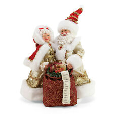Possible Dreams Golden Year Santa & Mrs Claus Gold New 2019 6003846 LmtEd