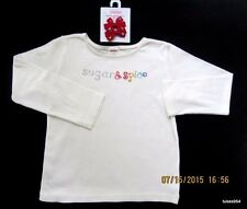Gymboree Sugar and Spice Top Shirt Hair Red Blue Green Ivory 5 1 NWT