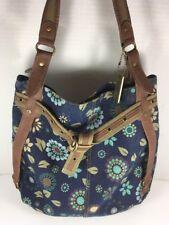 Levi's Fabric Flower Pattern Hobo Tote Shoulder Bag