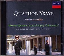QUATUOR YSAYE: MOZART Streichquartett K464 465 Dissonance CD 1995 String Quartet