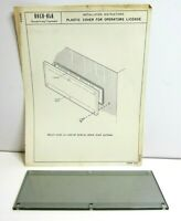 Vintage Rock-Ola Jukebox NOS Operators License Plastic Cover Replacement Part