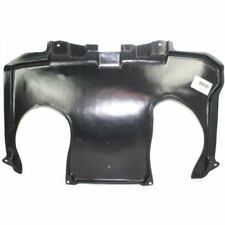 For S430 00-06, Rear Engine Splash Shield, Plastic