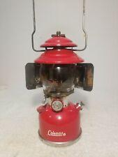 Antique 6/1964 MINT Coleman Model 200A Lantern w/RARE Reflector & Parts Storage