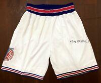 Space Jam Basketball Shorts Tune Squad Men's Shorts White Stitched