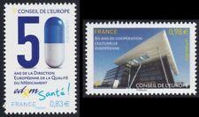 2014 FRANCE Service N°159/160** CONSEIL de L'EUROPE, France 2014 MNH