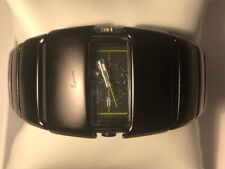 NIKE  RARE UN HOLEY RON ANALOG SPORT WATCH- BLACK D-LINE