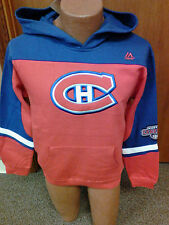 NHL Montreal Canadians NEW Hooded Sweatshirt Youth Sizes S-XL NWT