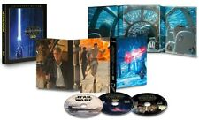 STAR WARS 7 (2015) - VII THE FORCE AWAKENS 3D BLU-RAY Collectors Edition Rg Free