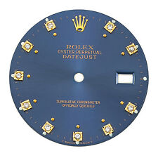 Rolex Datejust 28 mm Diamond Hour Markers Blue Dial FACTORY