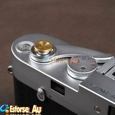 Gold Concave Soft Shutter Release Button For Fujifilm X100 Leica M6 M7 M8 #14