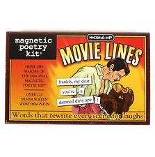 Movie Lines Fridge Magnet Poetry Set - Fridge Poetry