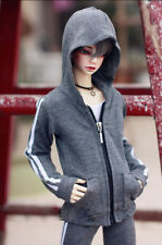 """Gray Sports Coat +Pants Casual Outfits For 1/4 17"""" BJD MSD AOD dd dz DOLL"""