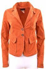 PATRIZIA PEPE FIRENZE Womens Corduroy Blazer Jacket IT 44 Medium Cotton  FT15
