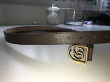 Gucci GG Marmont Belt (Taupe) Size 85