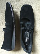 Marco Tozzi  Loafers Flat,Suede+Leather,Slip In,Ladies Size 4(37)Used Once