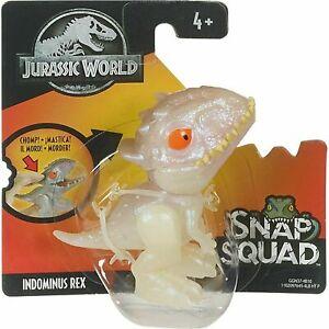 Jurassic World Snap Squad INDOMINUS REX RARE Mattel New