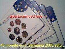 2005 5 x 8 monet 19,4 euro ADFGJ Germania allemagne germany Deutschland Alemania