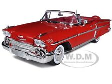 1958 CHEVROLET IMPALA RED 1/18 DIECAST CAR MODEL BY MOTORMAX 73112