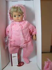 "New Gotz Doll Hildegard Gunzel Mia 22"" Doll Led Pink Outfit Nib"