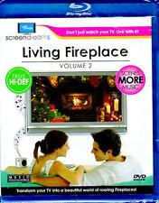 LIVING FIREPLACE Vol. 2: VIRTUAL CHRISTMAS HOLIDAY TRUE HD Blu-ray w/MORE SCENES