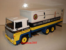 Ixo altaya Trucks from the Past Scania 140 V8 Service Interflora to / Of 1 /43°