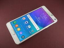 Samsung Galaxy Note 4 SM-N910P 32GB White Sprint Smartphone Clean ESN Work Great