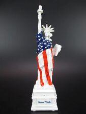 New York City estatua de la libertad estatua of Liberty blanco, 15 CM, eeuu souvenir América
