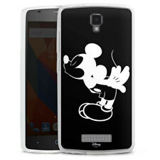 ZTE Blade L5 Silikon Hülle Case Handyhülle - Mickey Kissing