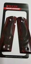 New Ruger SR1911 Cocobolo Eagle Wings 1911 Grips Free Shipping