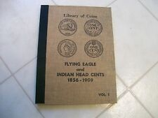 RARE VINTAGE LIBRARY OF COINS FLYING EAGLE INDIAN CENT 1856-1909  FREE SHIPPING