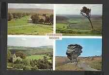 Judges Multi View Colour Postcard Yorkshire Moors  unposted