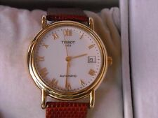 SWISS TISSOT AUTOMATIC CARSON 150 YEARS ANNIVERSARY 18K SOLID  GOLD MAN'S WATCH!