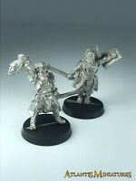 Metal Ugluk and Lurtz- OOP - LOTR / Warhammer / Lord of the Rings X394