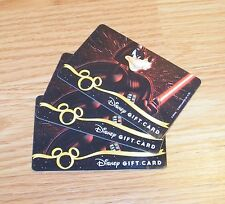 Lot of 3 Genuine Disney Star Wars Goofy Darth Vader Gift Cards **NO Cash Value**
