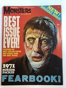 Famous Monsters of Filmland Magazine 1971 Fearbook Special Yearbook