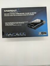 NT-WR1N  SABRENT  MINI WIFI PORTABLE  WIRELESS 802.11N AND 3G ROUTER